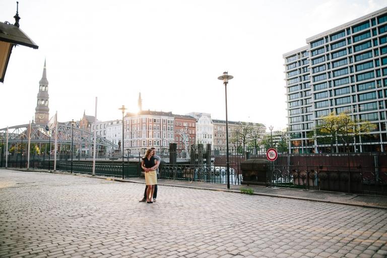 Engagement, Paarshooting, Hamburg